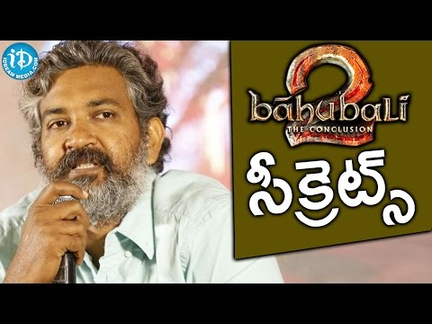 Baahubali 2 Interesting Facts About Visual Effects - Rajamouli || Bahubali The Conclusion Press Meet