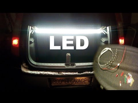 HOW TO INSTALL LED LIGHT STRIP IN CAR INTERIOR