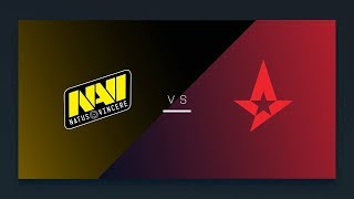 [RU]  Na'Vi vs Astralis! FACEIT MAJOR 2018
