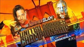 WWE SummerSlam 2018 | Shinsuke Nakamura VS Jeff Hardy  (WWE United States Championship)