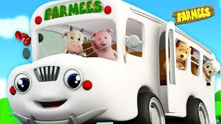 Wheels On The Bus | Song For Kids & Nursery Rhymes