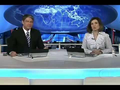 Jornal Nacional - Brasil e Paraguai se confundem no mapa e nas ruas de Ponta Porã, MS.mp4