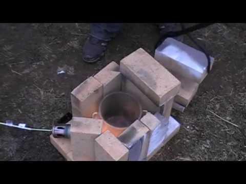 Тигель для плавки металлов своими руками