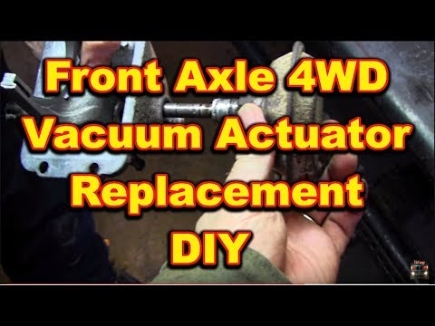 Front Axle 4 Wheel Drive Actuator Replacement 4x4 Dodge Ram
