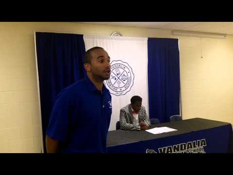 TC Daniels Signing with St. Andrews at Vandalia Christian School - 06/30/2014