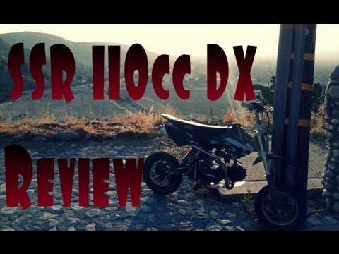 SSR 110cc DX PIT BIKE REVIEW
