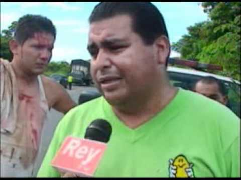 Los R�os: Tr�iler Provoc� Accidente En V�a San Carlos - Quevedo