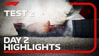 Test 2, Day 2 Highlights | F1 Testing 2019