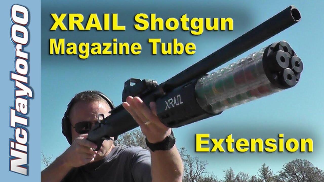 High Capacity Shotgun Maximum Capacity Shotgun