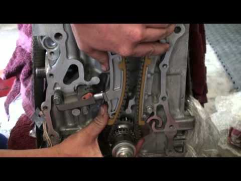 Timing Chain Tensioner installation for K24