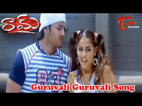 Raam - Guruvani Guruvani - Genilia - Nithin - Telugu Song video