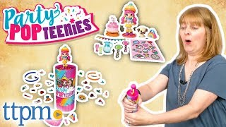 Party Popteenies - Popper, Double Popper, Party Surprise Box Playset | Spin Master Dolls
