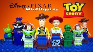LEGO Toy Story Disney-Pixar KnockOff Minifigures includes Woody & Buzz Lightyear