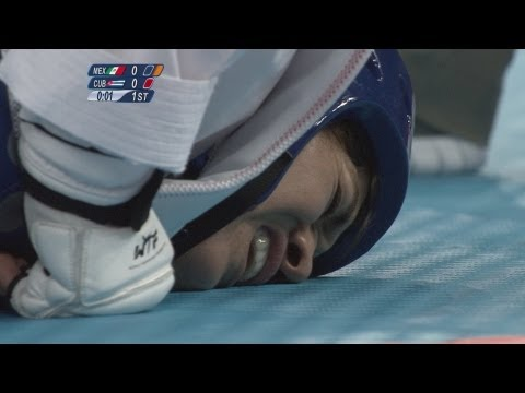 Taekwondo Women +67kg Bronze Medal Final - Mexico v Cuba Full Replay - London 2012 Olympics