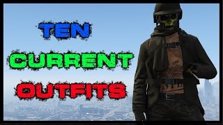 """""""GTA 5 Online"""" My Ten Current Outfits Episode 5"""