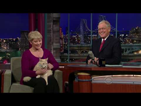 Late Show with David Letterman - Pet Massage