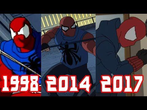 Эволюция Алого Человека-Паука (1998-2017)