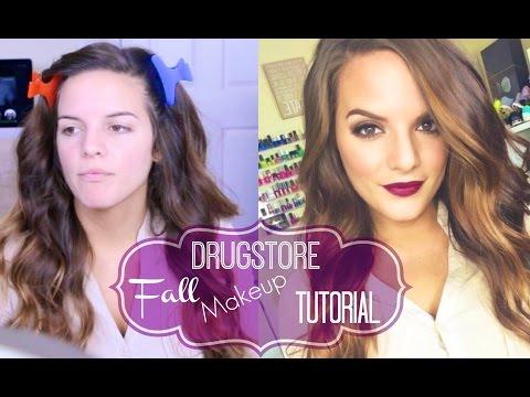 DRUGSTORE Fall Makeup Tutorial!