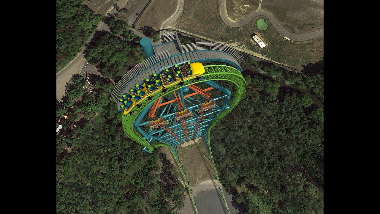 The new six flags ride 1