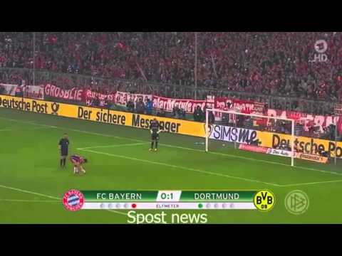 Bayern Munich 1 - 1 Borussia Dortmund PEN  0 2 Highlights