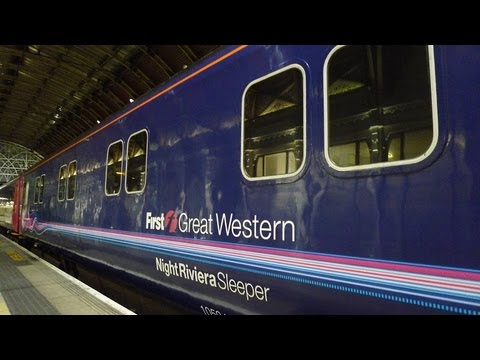 London to Cornwall by sleeper train: Night Riviera video guide