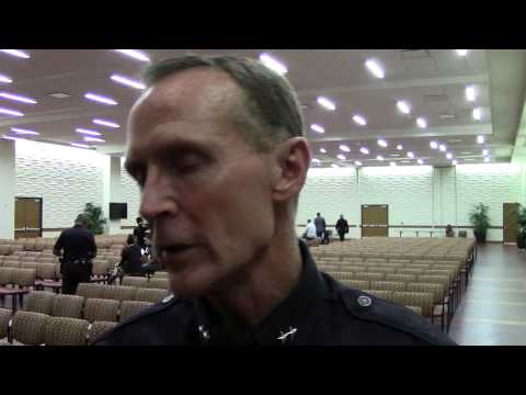 LAPD and DPS Campus Discussion: LAPD Deputy Chief Bob Green Post-Interview (Raw)