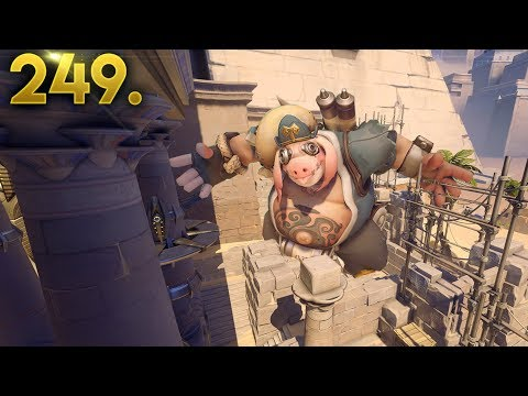 GIANT ROADHOG!! | OVERWATCH Daily Moments Ep. 249 (Funny and Random Moments)