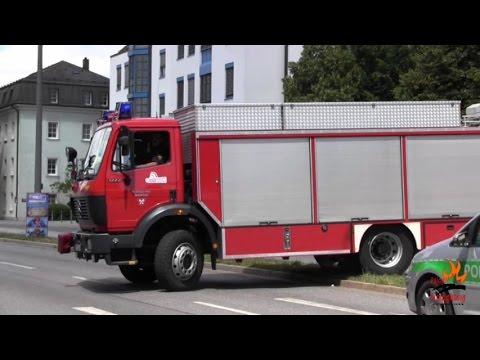 BF + FF Regensburg + FF Burgweinting Stadt Regensburg (Zusammenschnitt)