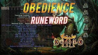 """Epic Runewords - Diablo 2 - """"Obedience"""" Ep:2"""