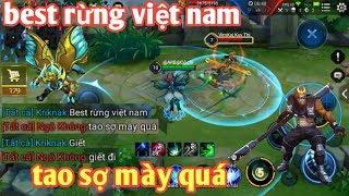Liên Quân Mobile _ Kriknak Chát Tổng Best Rừng Việt Nam | Bị Ngộ Không Coi Thường Và Cái Kết