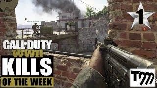Call of Duty WW2 - TOP 10 KILLS OF THE WEEK #1
