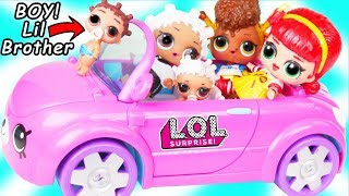 LOL Surprise Doll Fresh Gets New Cutie Cars Car Toy + Custom Lil Brother Punk Boi Boy, Toys R Us