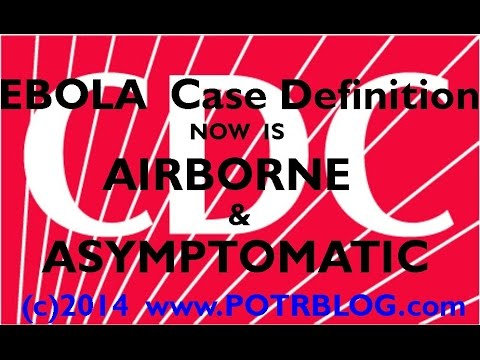 URGENT: CDC Ebola Quarantine Includes Airborne & Asymptomatic Exposure