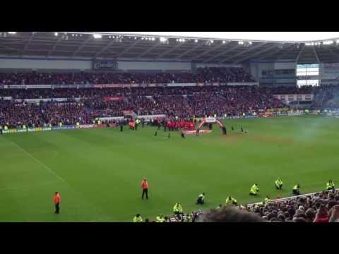 Cardiff City vs Bolton Wanderers Lifting Trophy
