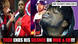 Tech N9ne Finally Speaks On Eminem and MGK!