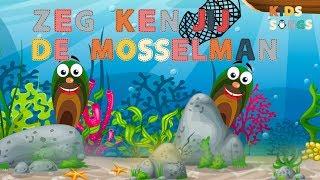 Zeg ken jij de mosselman - Nederlandse kinderliedjes van vroeger - Kids Songs