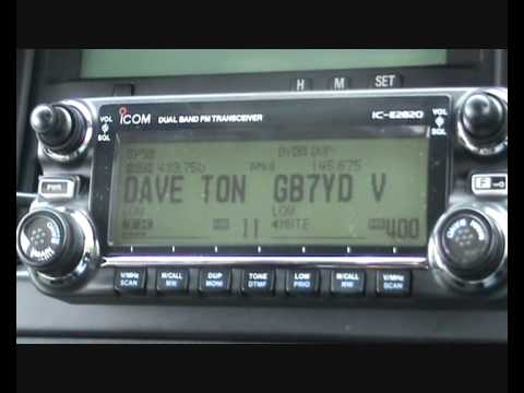 DSTAR & GPS In Action Icom 2820