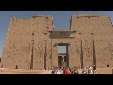 Temple of Horus, Edfu, Egypt / Świątynia Horusa, Edfu, Egipt