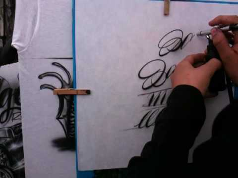 Coast Airbrush Kustom Kulture Show 2009 with Jaime Rodriguez part 4
