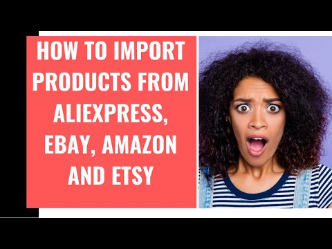 Woocommerce Dropshipping Aliexpress + amazon + ebay + etsy