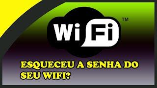 Como descobrir senha wifi sem programas