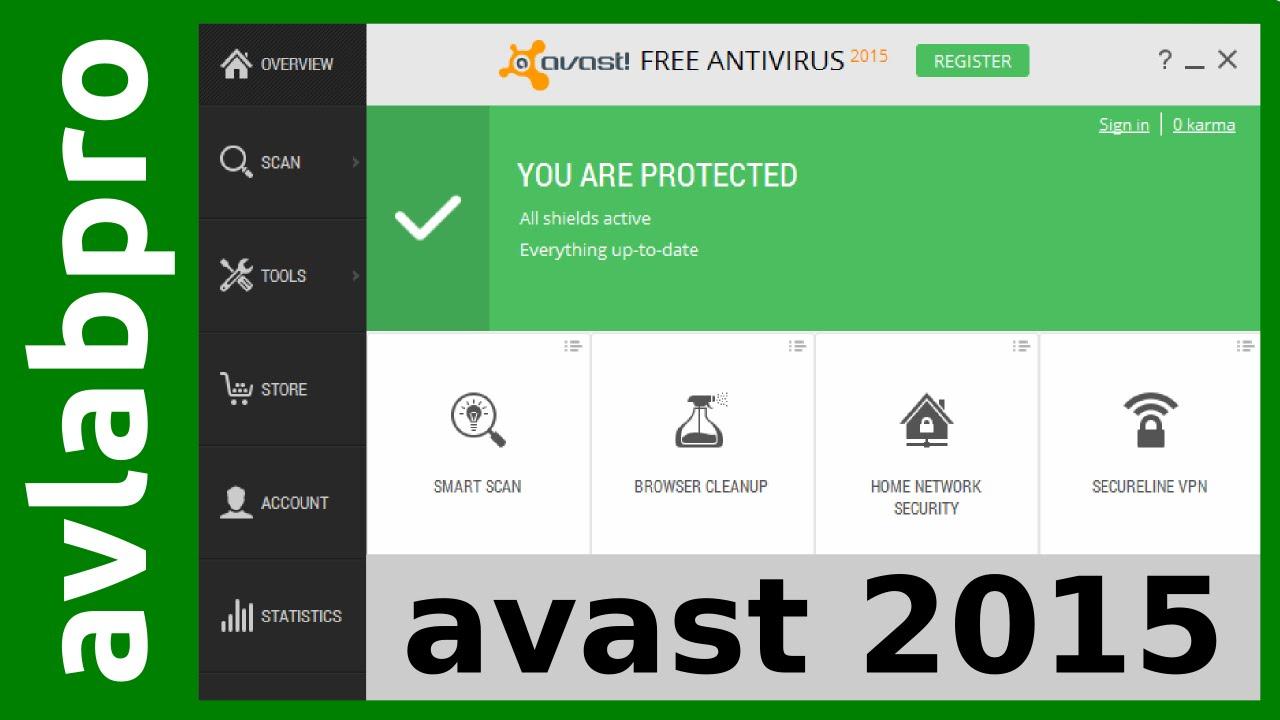 AVAST 2015 v.10 Free Antivirus - YouTube