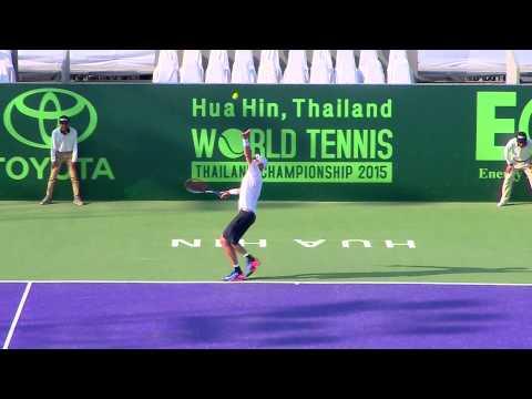 Richard Gasquet VS John Isner 01 01 58 5th Place