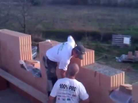 Pose Brique Pose de Briques Monomur