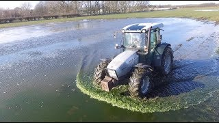 LET'S GET RID OF THIS WATER, MOLE PLOUGH IS OUT