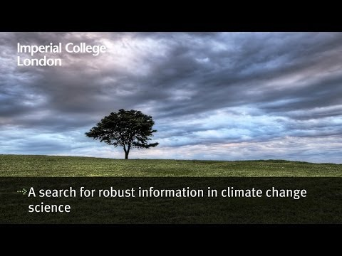 A search for robust information in climate change science