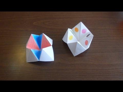 Piekło Niebo - Gry I Zabawy Dla Dzieci #3 (Paper Fortune Teller)