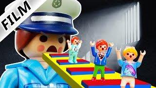 Playmobil Film Deutsch ENTKOMME AUS GEFÄNGNIS! JULIAN, EMMA, HANNAH REAL LIFE ROBLOX! Familie Vogel