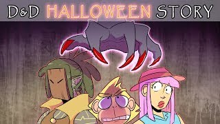 D&D Story: Spoopy Halloween One-Off (ooOOOoooo!!!)