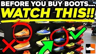 How To Buy Your Perfect Football Boots! 🛒 Buying Tips & Tricks